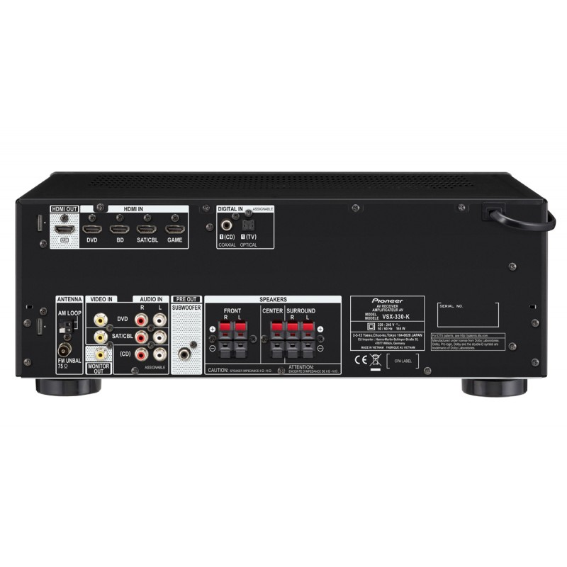 arriere amplificateur PIONEER VSX330K
