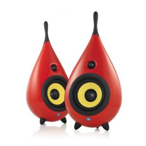 enceinte PODSPEAKERS THE DROP ROUGE
