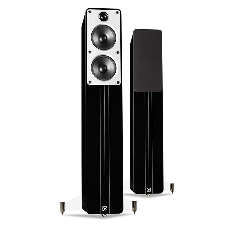 enceinte colonne q acoustic concept 40 noir