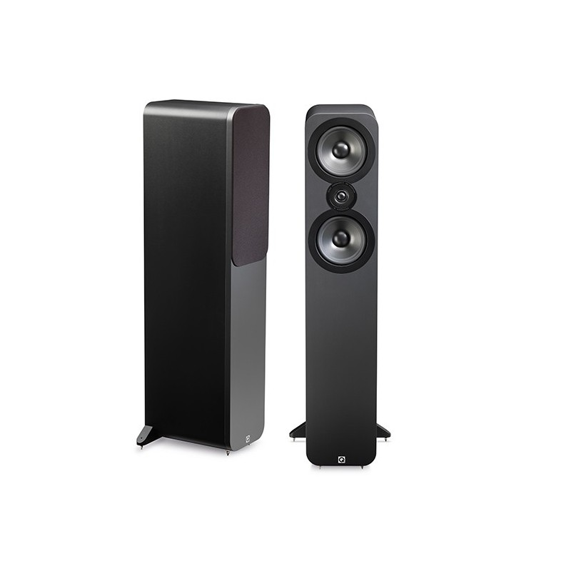 enceinte colonne q acoustic q3050 graphite