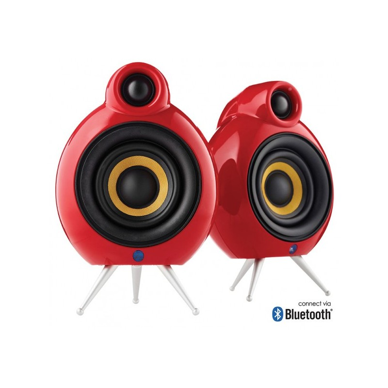 enceinte active bluetooth podspeakers micropod rouge