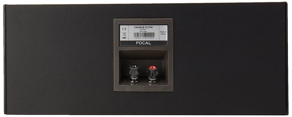 arriere centrale focal chorus cc700 noir