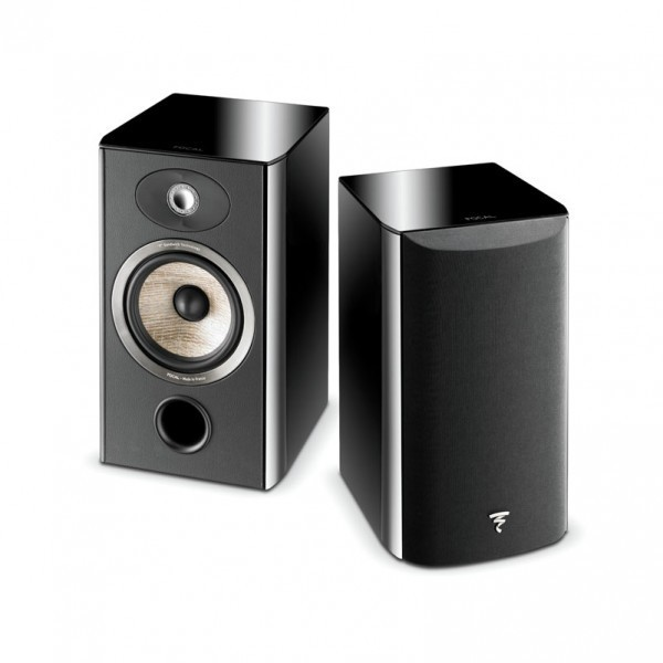 enceinte bibliotheque surround focal aria 906 noir laque