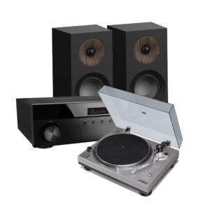 ensemble platine PM9805 ampli RX4208 enceinte S801